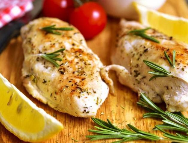 Chicken Steak With Rosemary Sauce